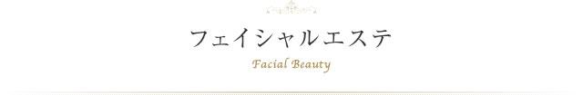 フェイシャルエステ Facial Beauty